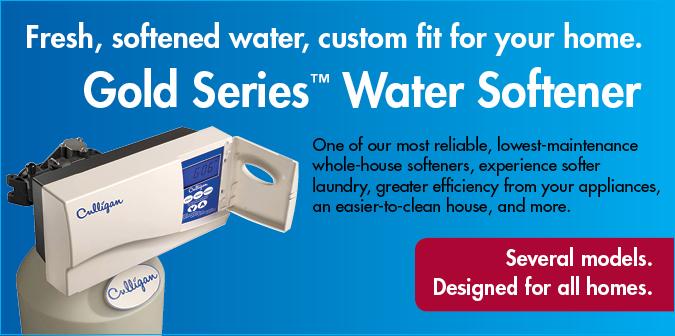 Gold Series Water Softener
