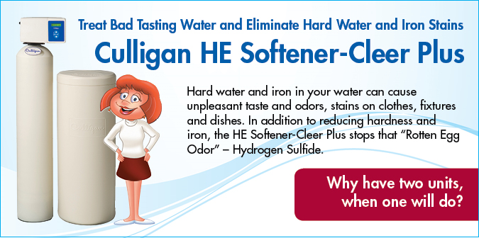 Culligan HE Softener-Cleer Plus