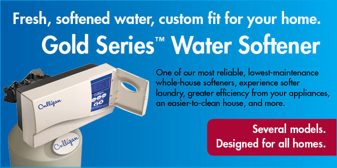 Gold Series Water Softeners
