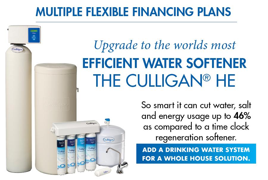Water Softeners Saves Salt Energy Culligan